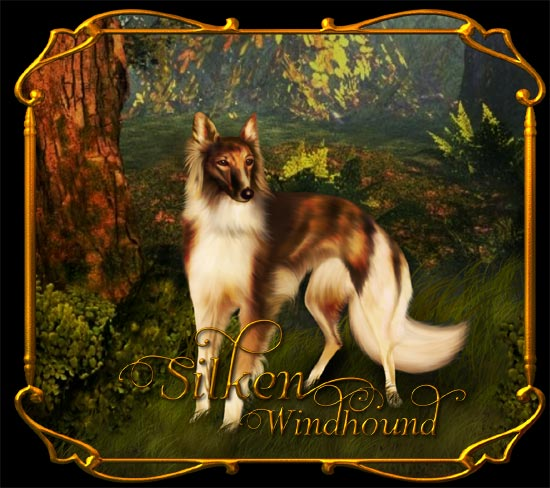 Silken Windhound illustration by Jaguarwoman